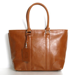 Vintage PU Leather Tote