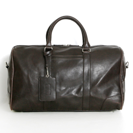 Vitage PU Leather Boston Bag