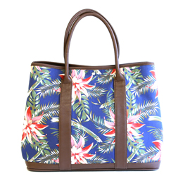 Canvas Tote Limited Flower Pattern